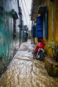 Monsoon in Hoi An, Viet Nam