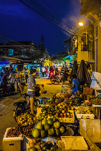 Night Market in Hoi An, Viet Nam