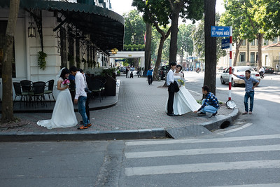 Wedding Pictures at Metropole Hotel, Hanoi, Viet nam