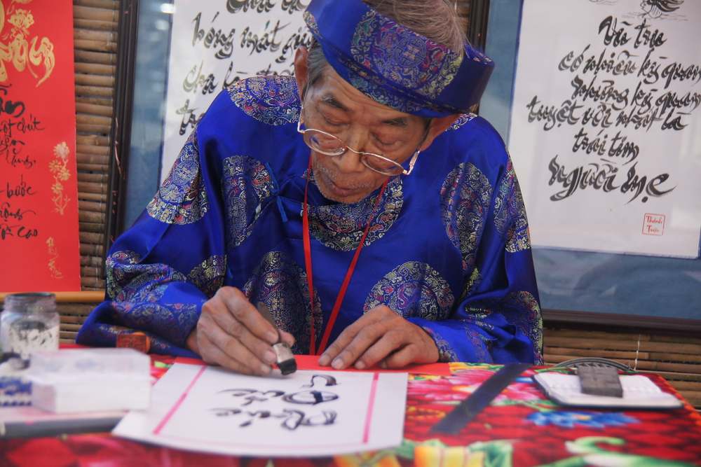 Calligraphy | Vietnamese Man | Travel Photo