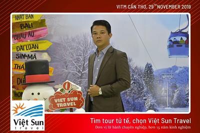 Viet Sun Travel @ VITM Can Tho 2019 instant print photo booth | Chụp ảnh in hình lấy liền Hội chợ Du lịch Quốc tế Cần Thơ 2019 | Photobooth Can Tho