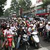 Saigon has 9 million people and 7 million motorbikes!