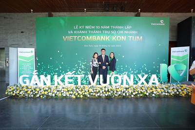 Vietcombank Kontum | 10 Years Anniversary instant print photo booth @ Indochina Palace Kontum | Chụp hình lấy liền Sự kiện tại Kontum | Photobooth Kontum
