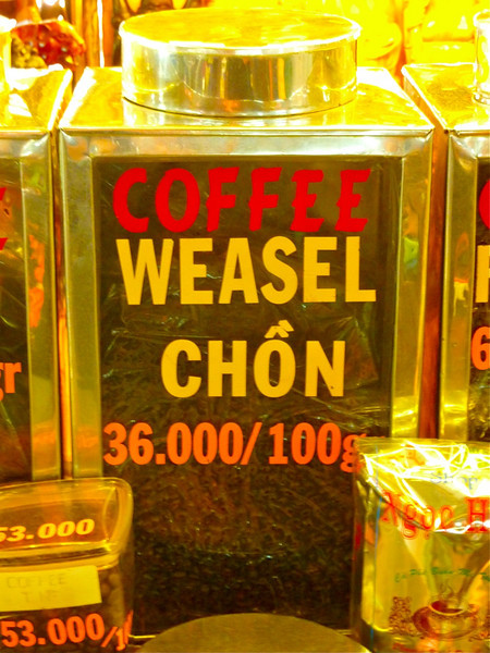 weasel coffee! want to try some?