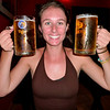 Beers as big as Elise's Head!