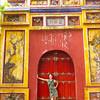 Colourful doorway