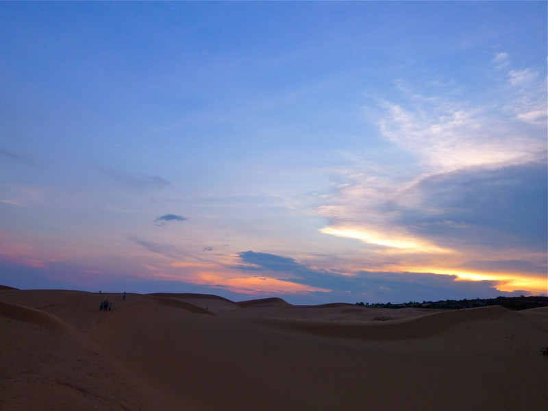 Sunset at Mui Ne Sandunes