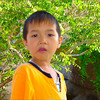 Curious Little Vietnamese Kid
