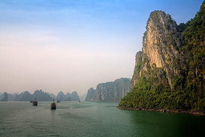 Karst Towers,  Halong Bay, Vietnam