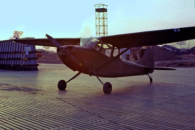 Observation aircraft, Phuoc Vinh, Vietnam