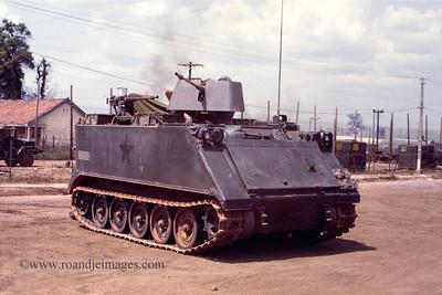 Armored Personnel Carrier (APC), Phuoc Vinh, Vietnam