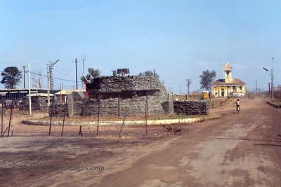 Entrance (Bunker) Phuoc Vinh Base Camp, Vietnam