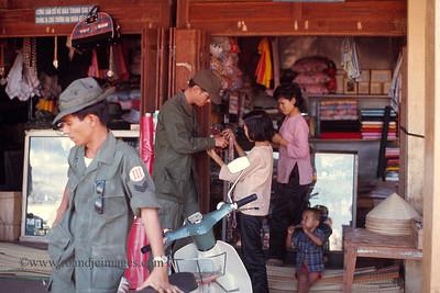 Phuoc Vinh marketplace, Vietnam