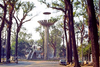 Park near Presidential Palace- Saigon, Vietnam