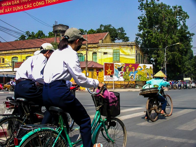 Hanoi city views 2003