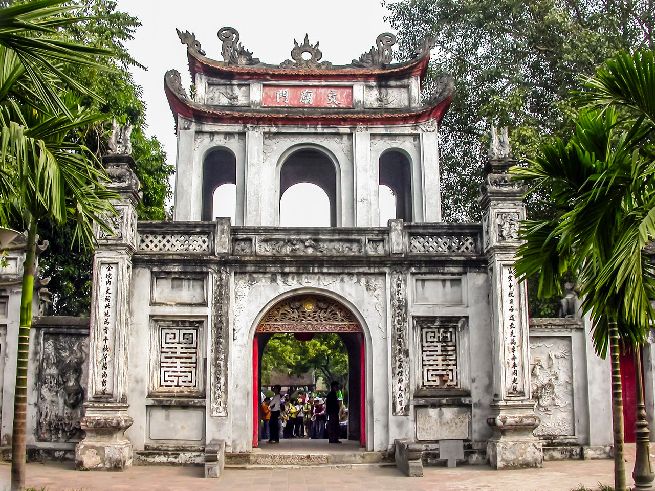 Temple of Literature, Hanoi, Vietnam