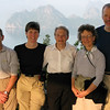 Family & Jane, Ha Long Bay, Vietnam.  2008