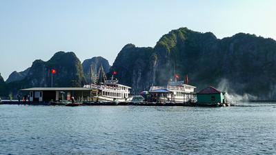 Floating Dock, Ha Long Bay