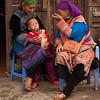 Feeding Grandson in Bac Ha