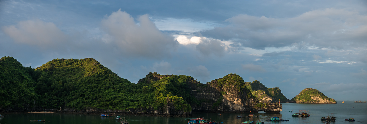 Cat Ba Sunrise Panorama