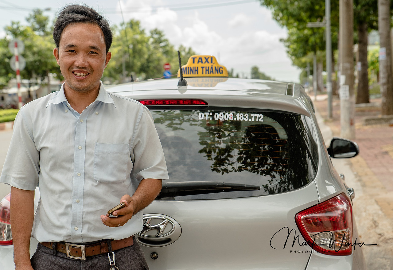 Taxi cab driver, Ba Ria