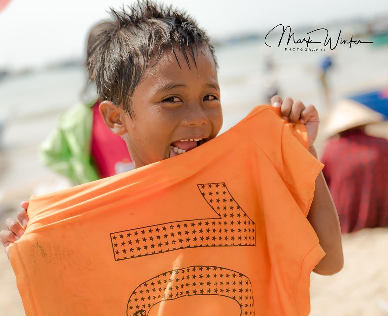 Boy at Fishing Village, Phan Thiet