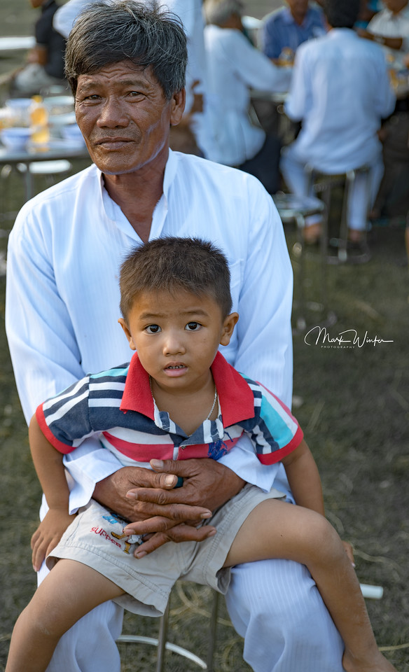 Cham Father and Son, Phan Thiet