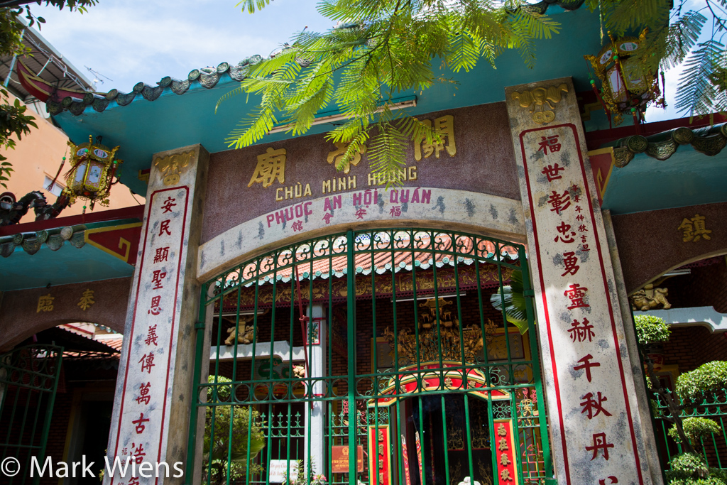 Taoist temple in Saigon