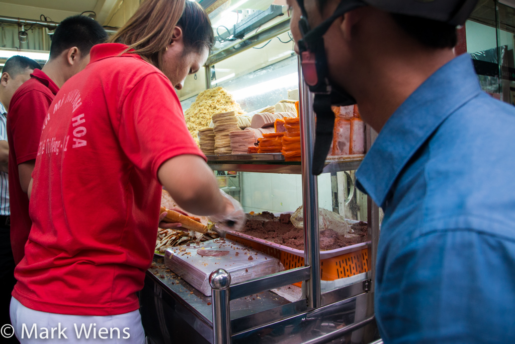 banh mi in Ho Chi Minh City