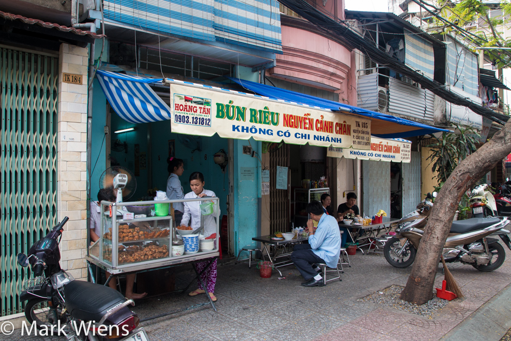 Vietnamese bun rieu