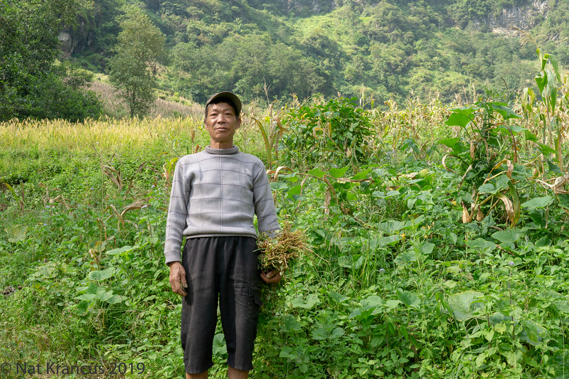 Farmer Above Bac Ha