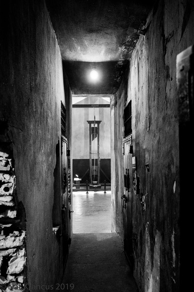 Guillotine in Hỏa Lò Prison