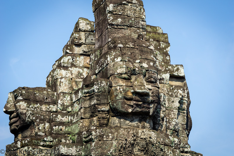 Face of Jayavarman VII at Bayon