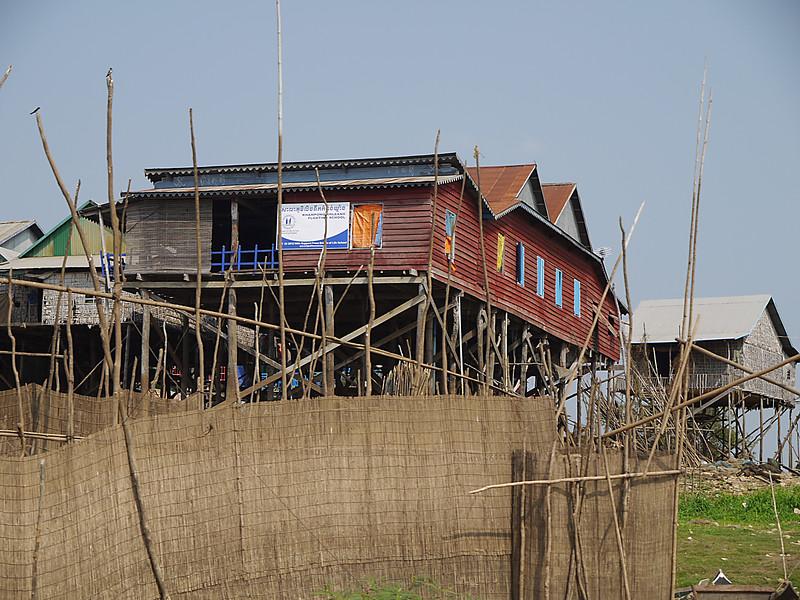 School in Kampom Thom.