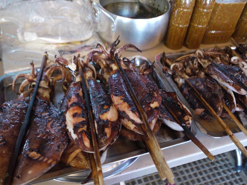Street food -- squid?
