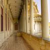 I can't resist a colonnade.  Royal Palace complex, Phnom Penh