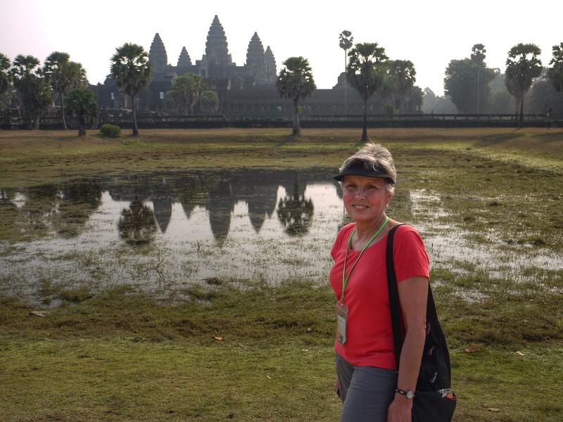 Hot Day at Angkor Wat