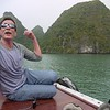 Rick at Halong Bay