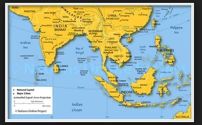 Vietnam and Cambodia: Maps