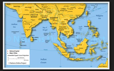 Vietnam and Cambodia: Maps