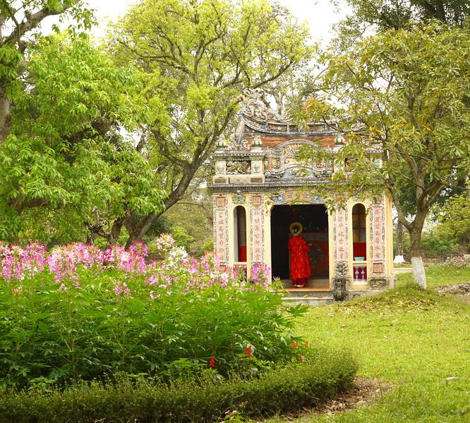 Private shrine for royal family in Huế, Vietnam