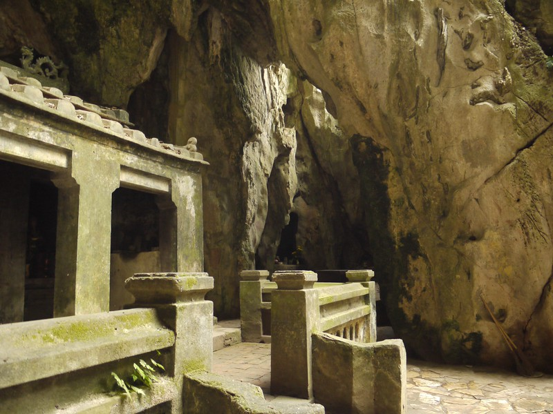Inside Marble Mountain, Vietnam