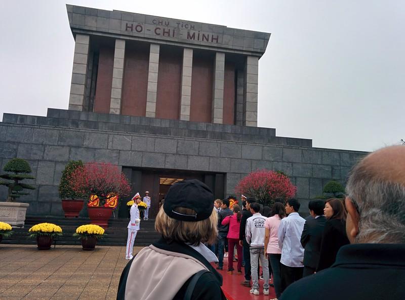 Ho Chi Mini mausoleum, Hanoi