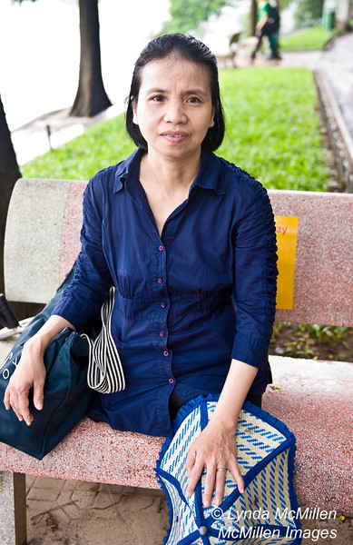 One of several amputees I met walking around Hoan Kiem Lake, Hanoi, Vietnam.