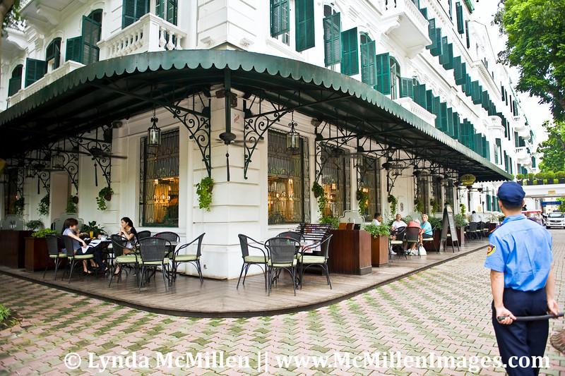 The Metropole Legend Hotel opened as the Grand Metropole Palace in 1901.  Jane Fonda stayed here making her famous broadcast to American troops in 1972.