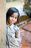 Curious and friendly children at Banteay Srei.