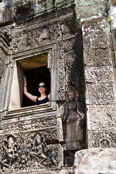 Carved bas-reliefs offer insights into everyday Angkorian life.