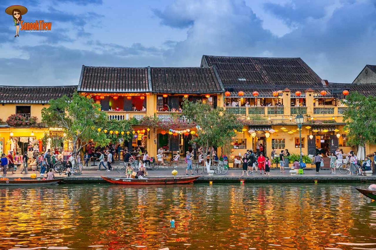 ข้อมูล เที่ยวเวียดนาม เวียดนาม Vietnam Guide ตึกสีเหลือง ริมน้ำ กับ โคมไฟหลากสี เอกลักษณ์ของเมืองมรดกโลก ฮอยอัน