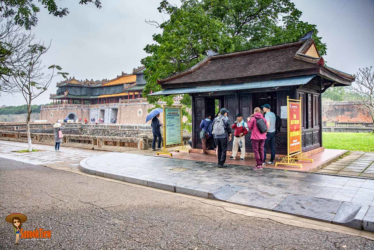 นครจักรพรรดิ The Hue Imperial City หรือ Complex of Hue Monuments หรือ Kinh thành Huế หรือ The Forbidden City เว้ เที่ยวเว้ เมืองเว้ Hue เวียดนาม vietnam