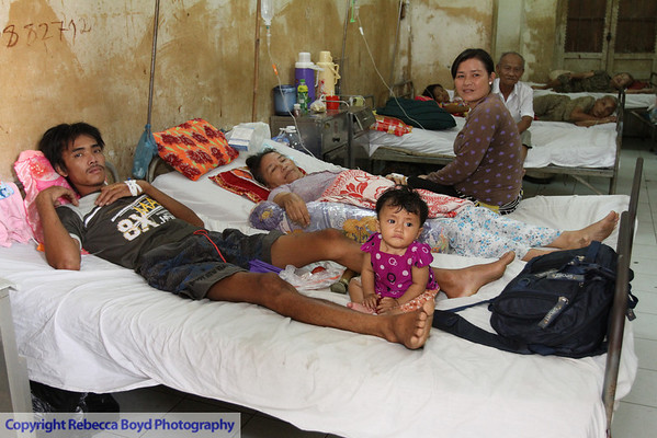 Conditions in the Rach Gia hospital in southern Vietnam